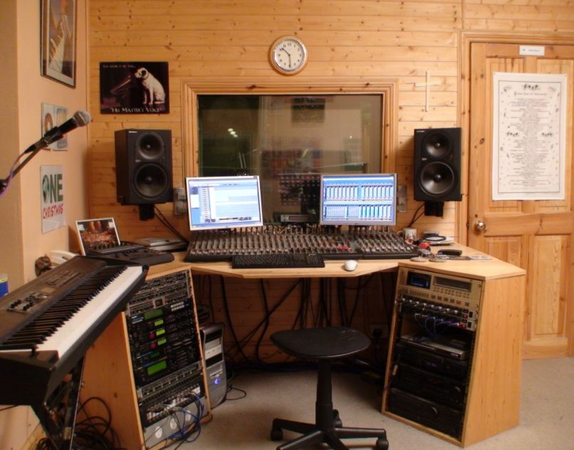 Small recording studio design ideas home decorating ideas for Nice house music